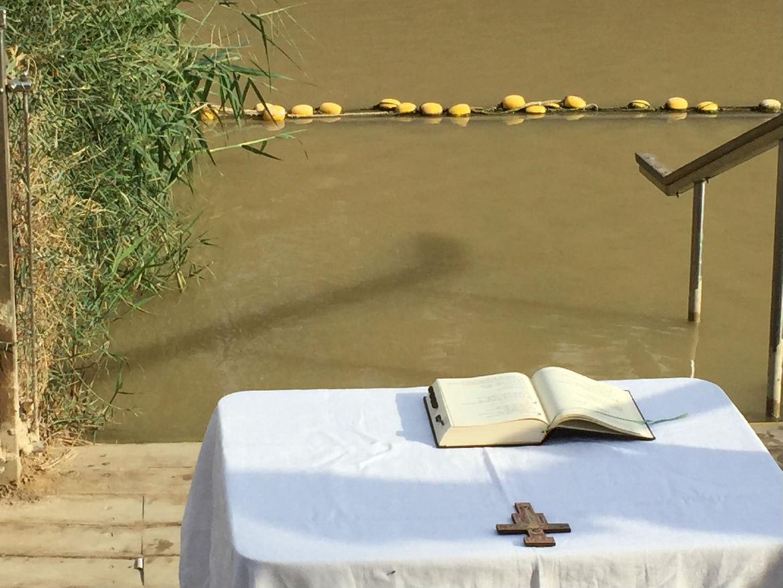 Pèlerinage en Terre Sainte, le Jourdain