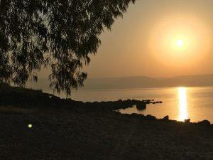 Pèlerinage en Terre Sainte, le Lac de Tibériade