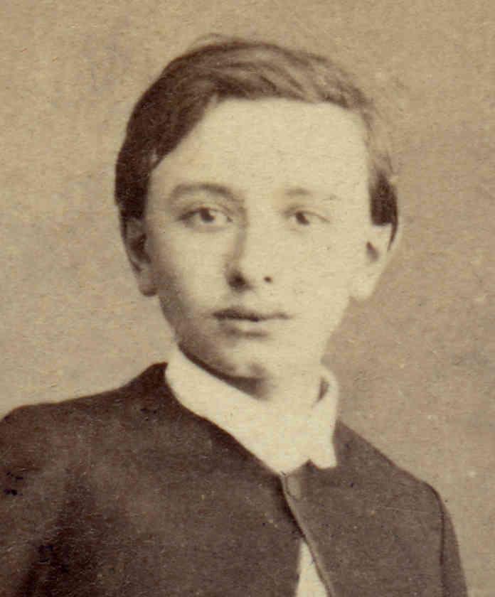 Portrait de Jean-Emile Anizan enfant