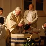 Baptême à la paroisse Sainte-Hélène (Paris)