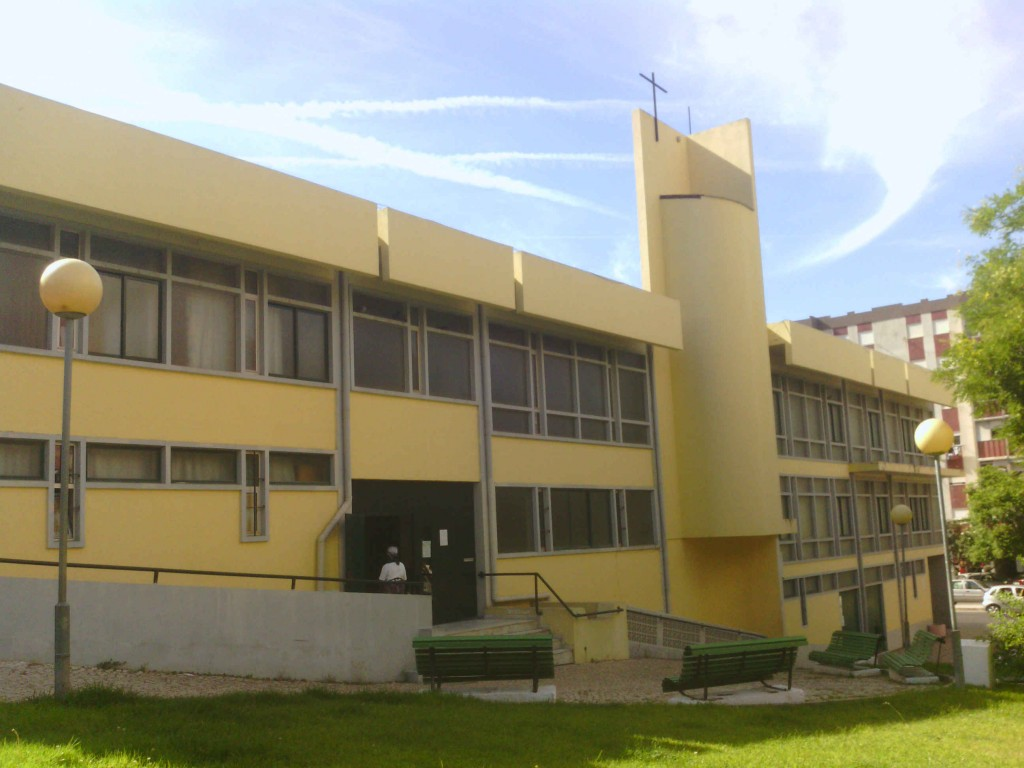 L'église de Lavradio au Portugal