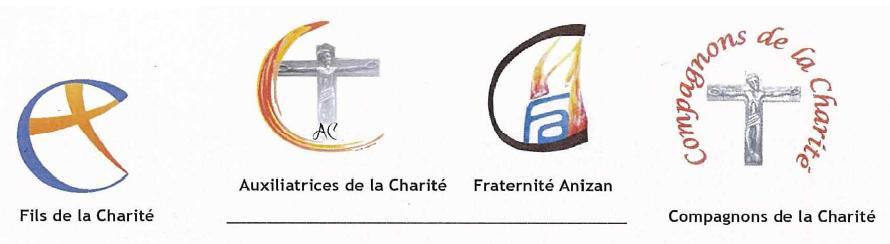 Les logos de la Famille Spirituelle Anizan