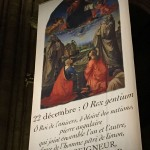 Antienne O du 22 decembre