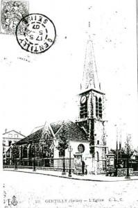Eglise Saint-Saturnin de Gentilly