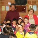 Colombie enfants de la Cantine