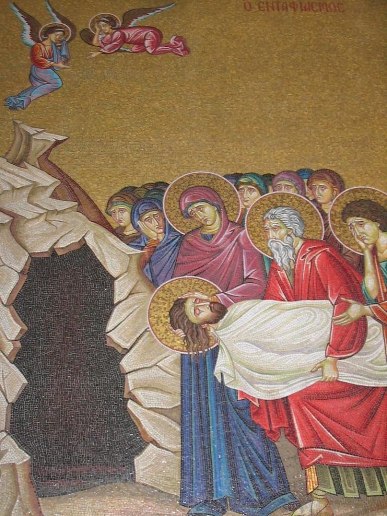 Mise au tombeau de Jésus