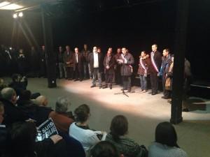 Hommage de Grigny aux vistimes de l'attentat contre Charly Hebdo