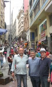 Dans les rues de Sao Paulo