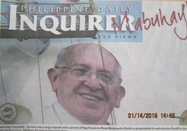 Visite du Pape aux Philippines