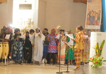 Messe des migrants à Grigny