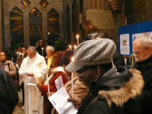 2 février procession de la lumière