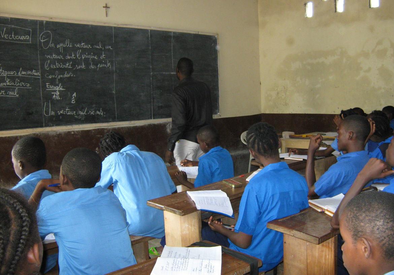 L'école Michel Gobin à Brazzaville
