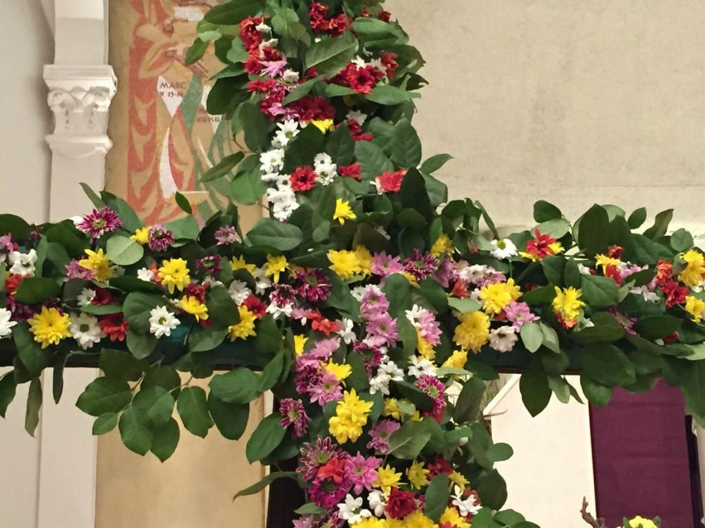Croix fleuries