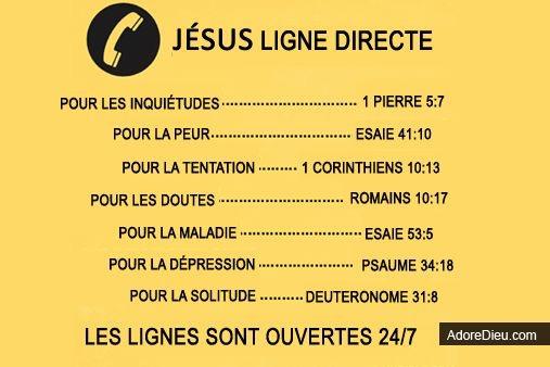 Jésus ligne directe
