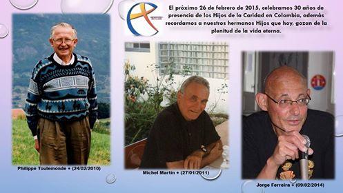 Philippe Toulemonde, Miguel Martin, Jorge Galdino