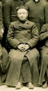 Portrait du père Anizan en 1910