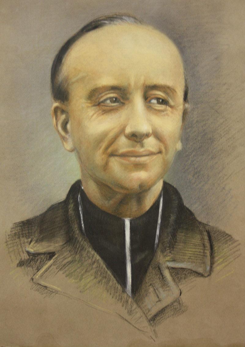 Portrait au crayon de Jean-Emile Anizan