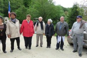 Sur les pas du père Anizan à Verdun en mai 2015 avec la Fraternité Anizan