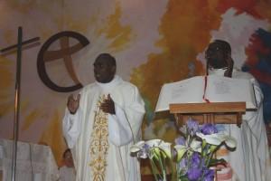 Ordination presbyétrale de Georges Ouensavi fc le 10 mai 2015