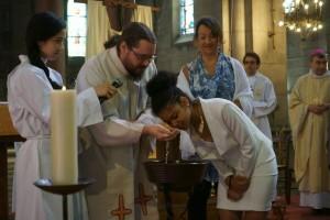 Baptême d'Anaïs