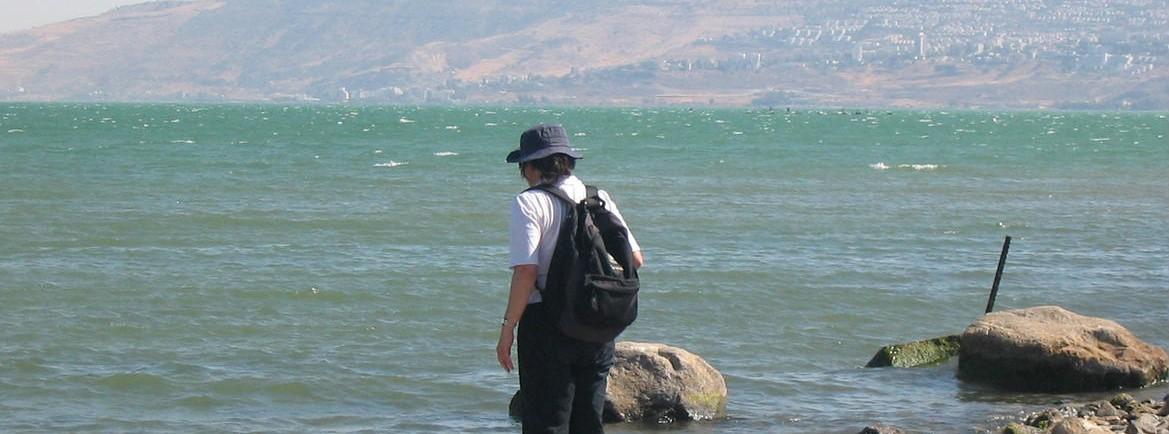 2008 Lac Tibériade Patricia Sanyas