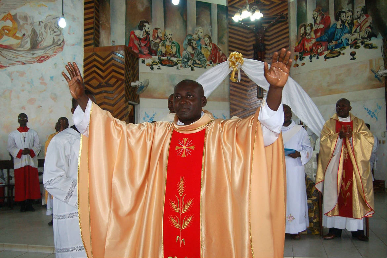 Ordination presbytérale d'Alain Paul N'Ggbesso