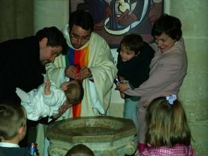 Baptême par Xavier Séclier fc
