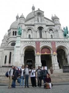 Groupe à Montmartre