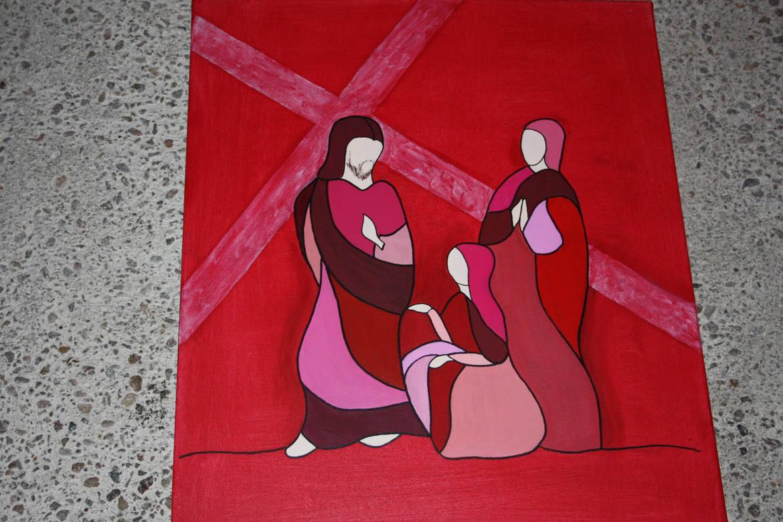 Jésus rencontre Marie Bourges
