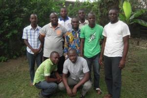 Les novices à Abidjan