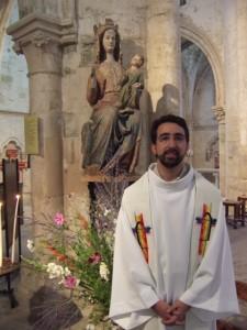 Xavier Séclier fc à Notre-Dame