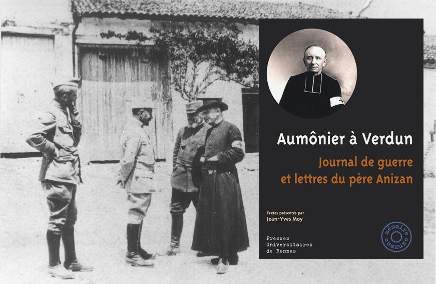 Parution d'ouvrage : Aumônier à Verdun, journal de guerre et lettres du père Anizan