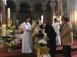 Baptême à Saint-Ouen