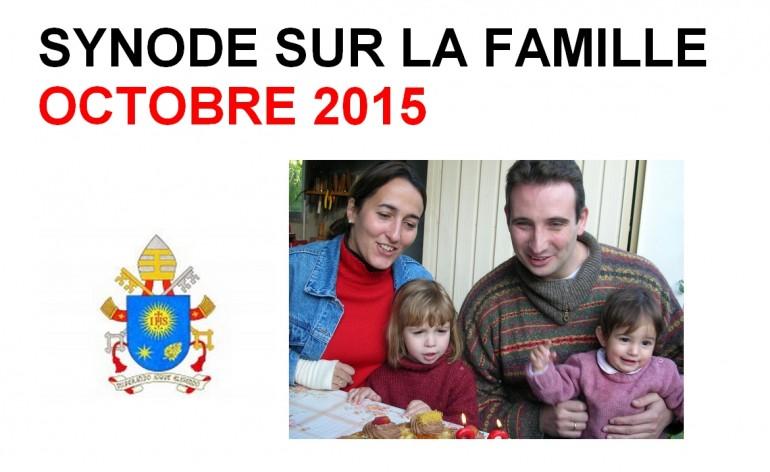 Logo du synode sur la famille 2015