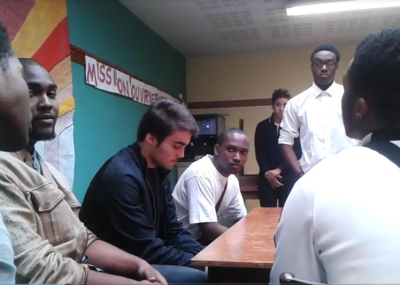 Réunion de la Mission Ouvrière de la Paroisse Sainte-Hélène à Paris en octobre 2015