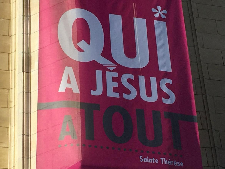"""""""Qui a Dieu a tout"""" Sainte Thérèse de l'Enfant Jésus"""