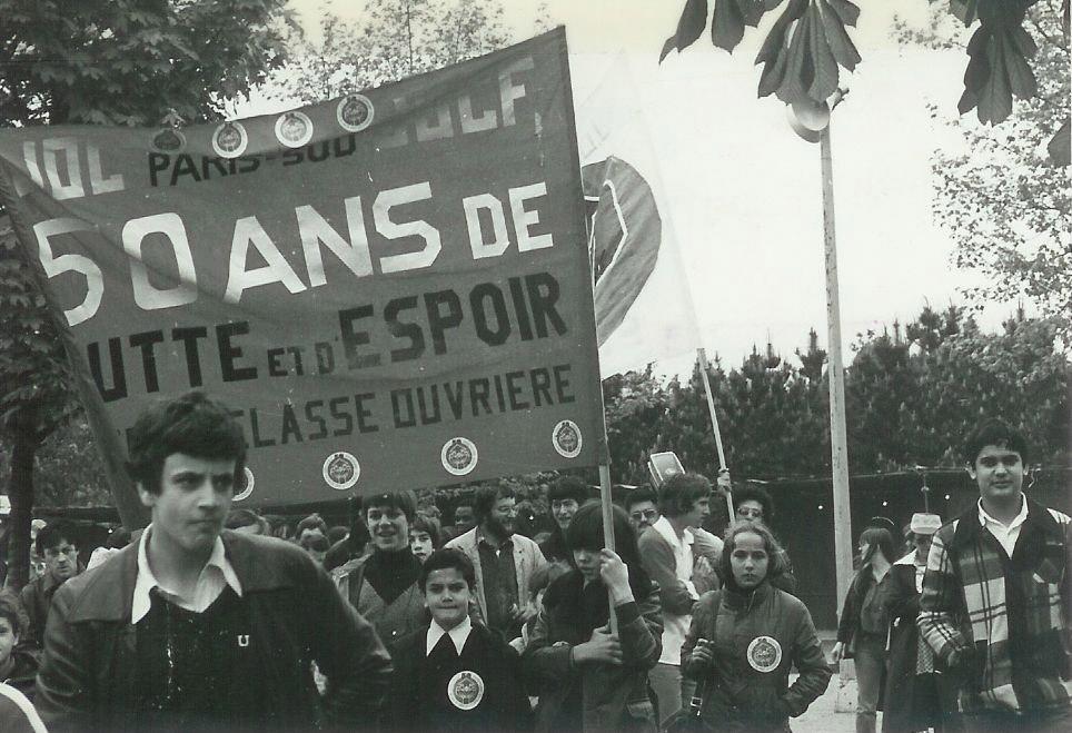 Les 50 ans de la JOC en 1978