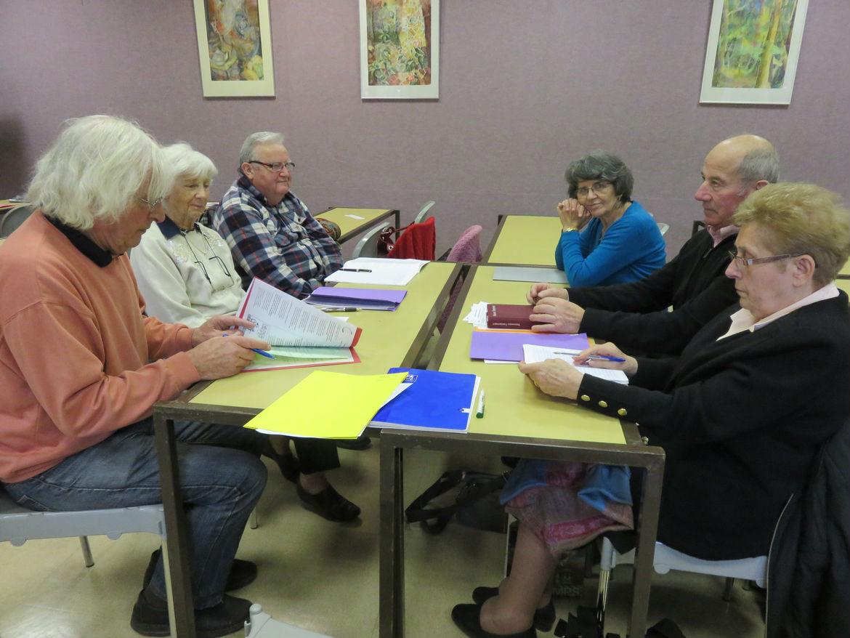 Récollection de la Fraternité Anizan 2015 avec Jacques Gaillot