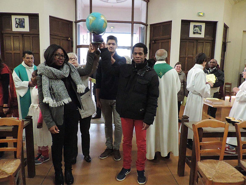 Messes 2016 des Migrants à Sainte-Hélène et Grigny