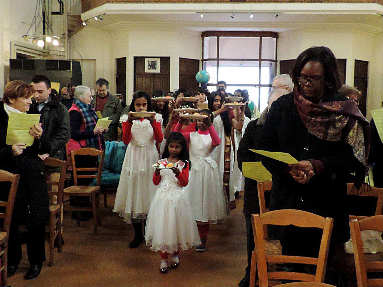 Messes des Migrants à Sainte Hélène et Grigny