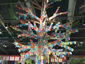 Cop 21 arbre à post-it