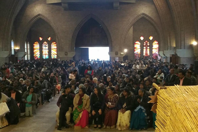 La communauté Tamoul Srilankaise à La Courneuve, 10 janvier 2016