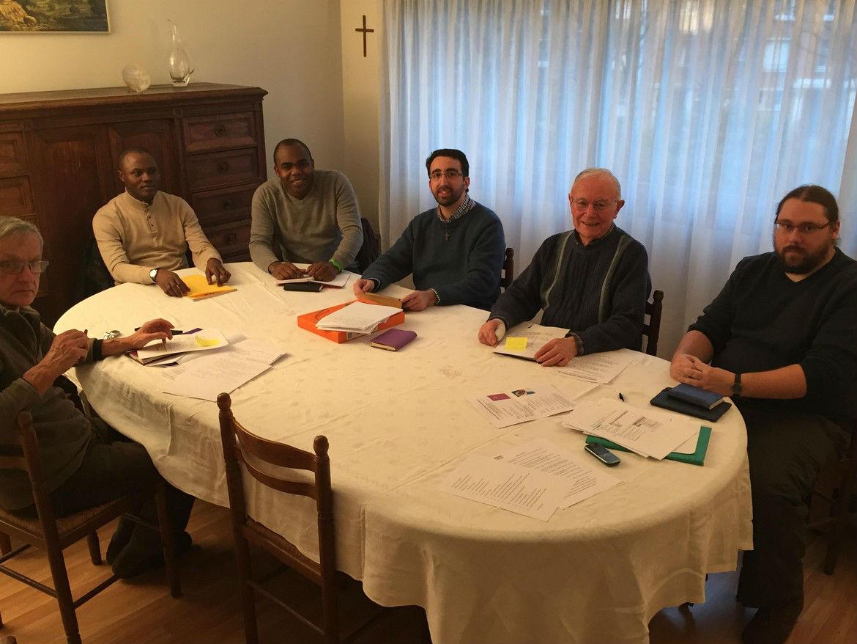 Jeunes prêtres en France février 2016