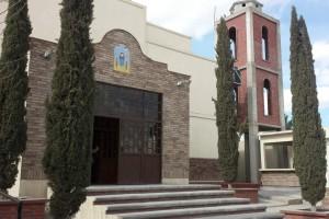 """Paroisse """"Santo Niño"""", Cuidad Juarez (au Nord du Mexique)"""