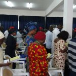 Session des Aumôniers de la mer, à Abidjan, avril 2016