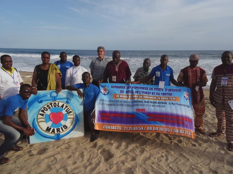 Session des aumôniers des ports d'Afrique atlantique