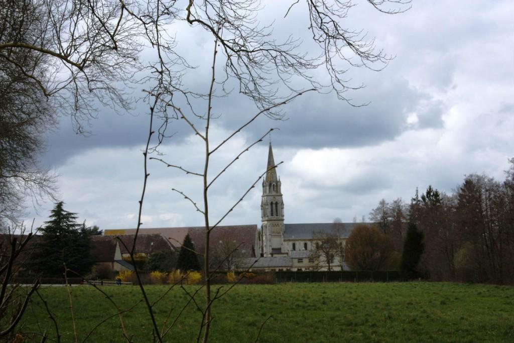 Retraite spirituelle à l'Abbaye de La Trappe de Soligny, avril 2016
