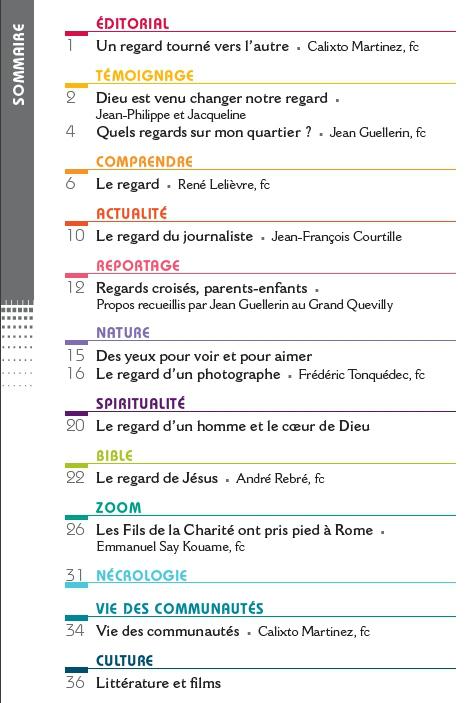 """Sommaire de la revue chantiers de juin 2017 sur """"Regards sur le monde"""""""