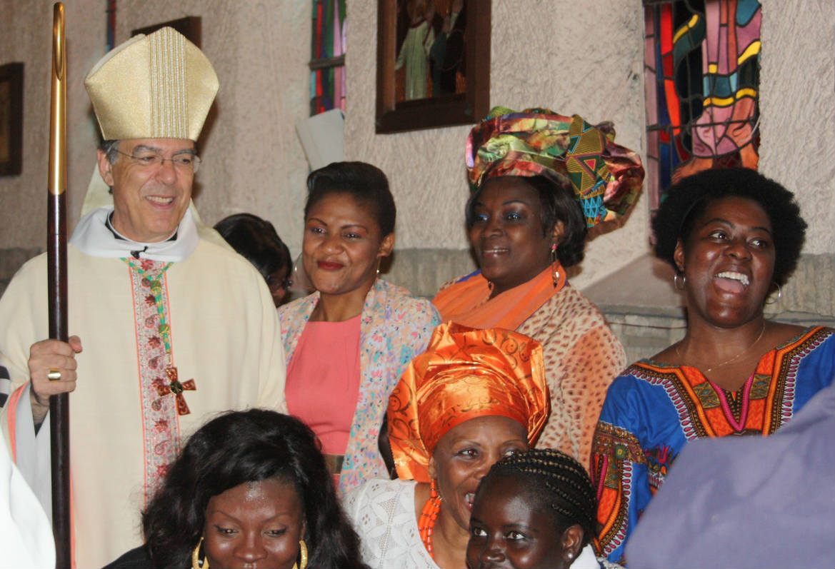 80 ans de la chapelle Saint-Etienne Saint-Henri à Colombes, le 22 mai 2016