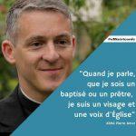 opération « Toile de Miséricorde » lancée par l'Eglise catholique à l'occasion de la 50ème Journée mondiale de la Communication, le 8 mai 2016.
